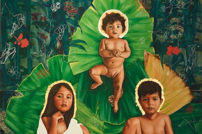 Winner Sulman Prize 2020, Marikit Santiago The divine © the artist