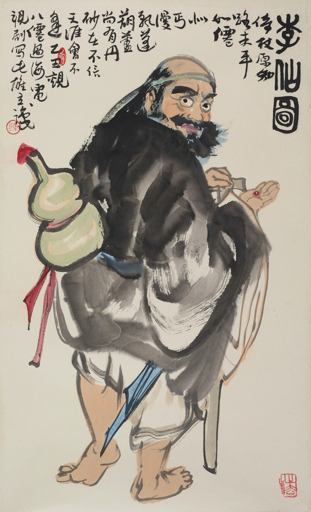 Chen Xiongli Immortal man 1985, Art Gallery of New South Wales © Chen Xiongli