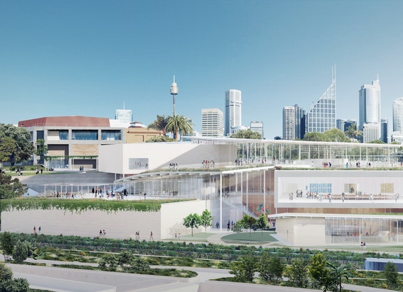 Image of the Sydney Modern Project as produced by Kazuyo Sejima + Ryue Nishizawa / SANAA © Art Gallery of New South Wales, 2018