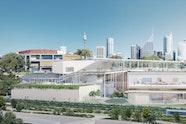 Image of the Sydney Modern Project as produced by Kazuyo Sejima + Ryue Nishizawa / SANAA © Art Gallery of New South Wales, 2018