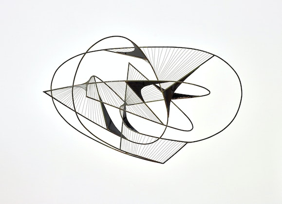 Margel Ina Hinder Revolving construction 1957. Art Gallery of New South Wales, purchased 1959 © Estate of Margel Hinder