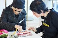 Art and dementia program