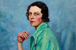 Tempe Manning Self Portrait