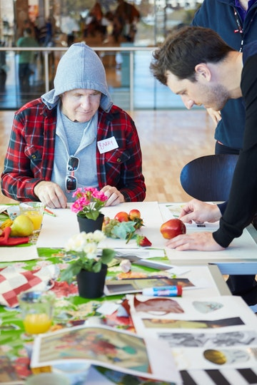 Art and dementia project
