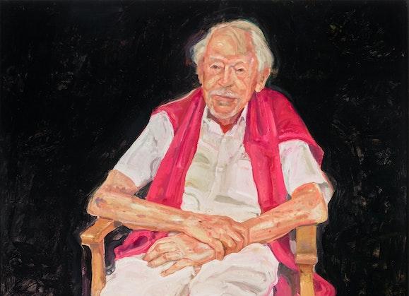 Peter Wegner Portrait of Guy Warren at 100, Archibald Prize 2021 winner