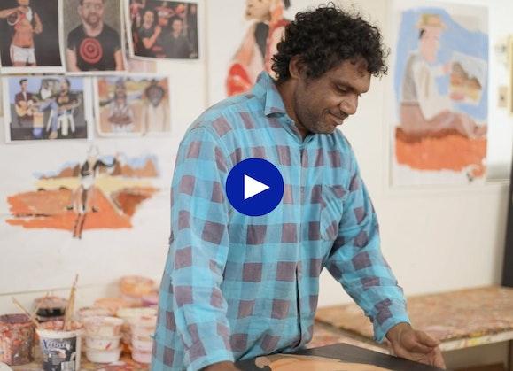 Vincent Namatjira homepage video thumb