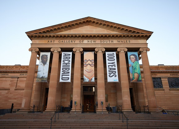 Exterior of the Art Gallery of New South Wales. Photo: AGNSW, Jenni Carter