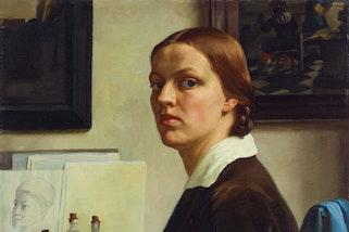 Nora Heysen Self-portrait 1932 (detail). Art Gallery of New South Wales, gift of Howard Hinton 1932. © Lou Klepac