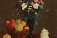 AGNSW Collection, Henri Fantin-Latour, Flowers and fruit, 1766