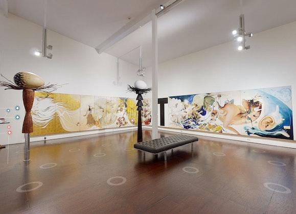 Brett Whiteley Studio Gallery - virtual visit