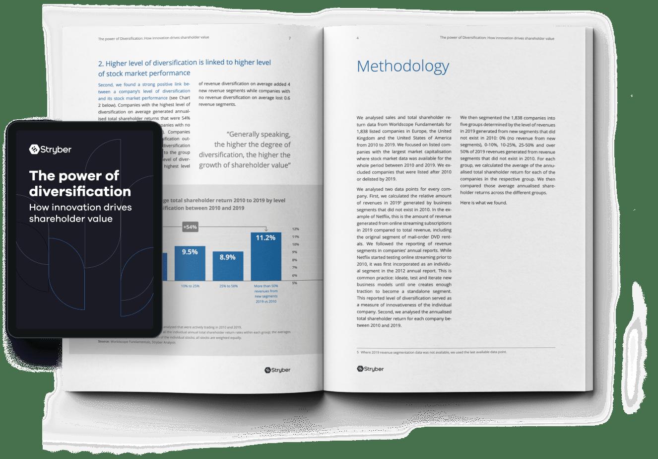 How innovation drives shareholder value