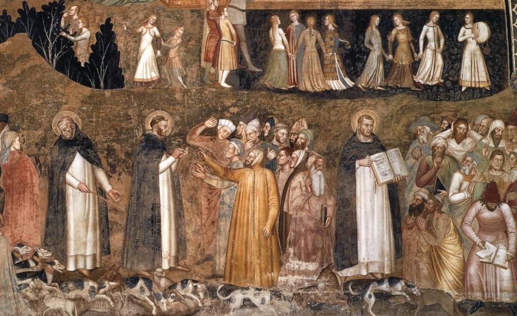 Dominicans At Santa Maria Novella Santa Maria Novella
