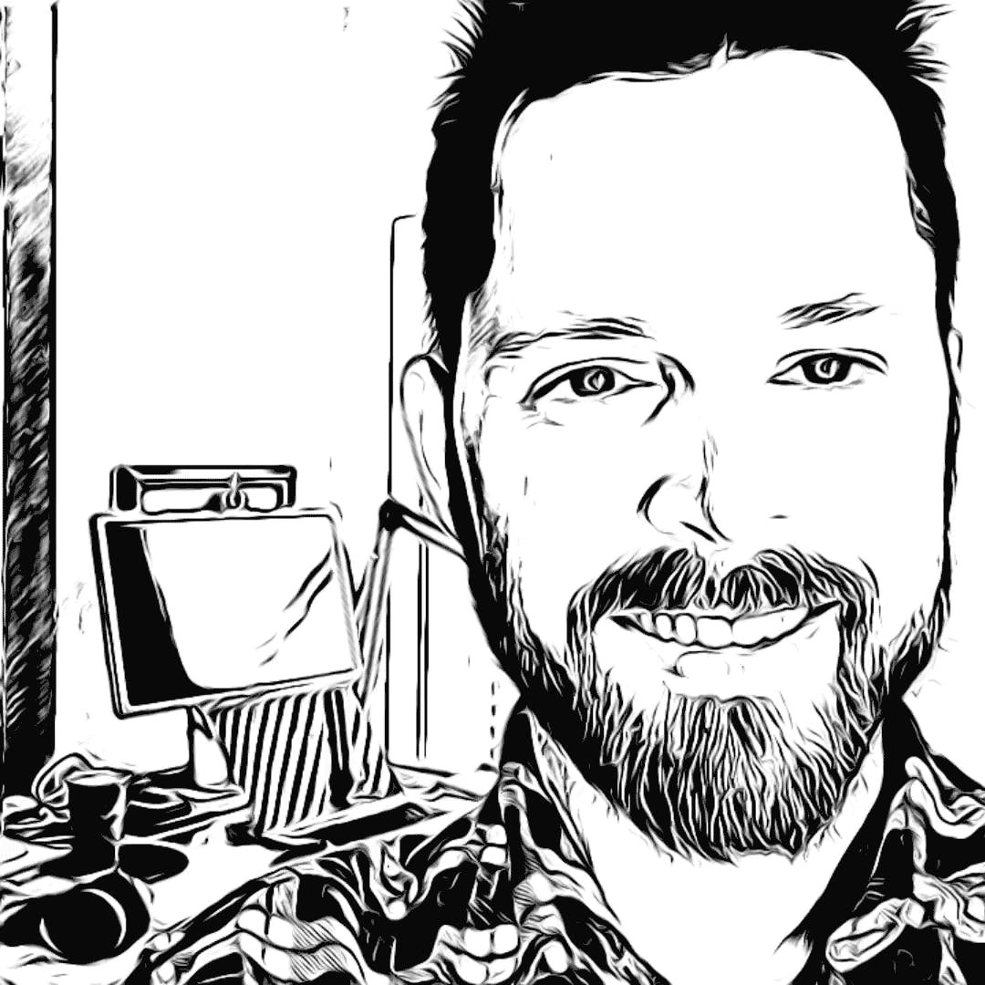 web developer Ben Forshey, smiling