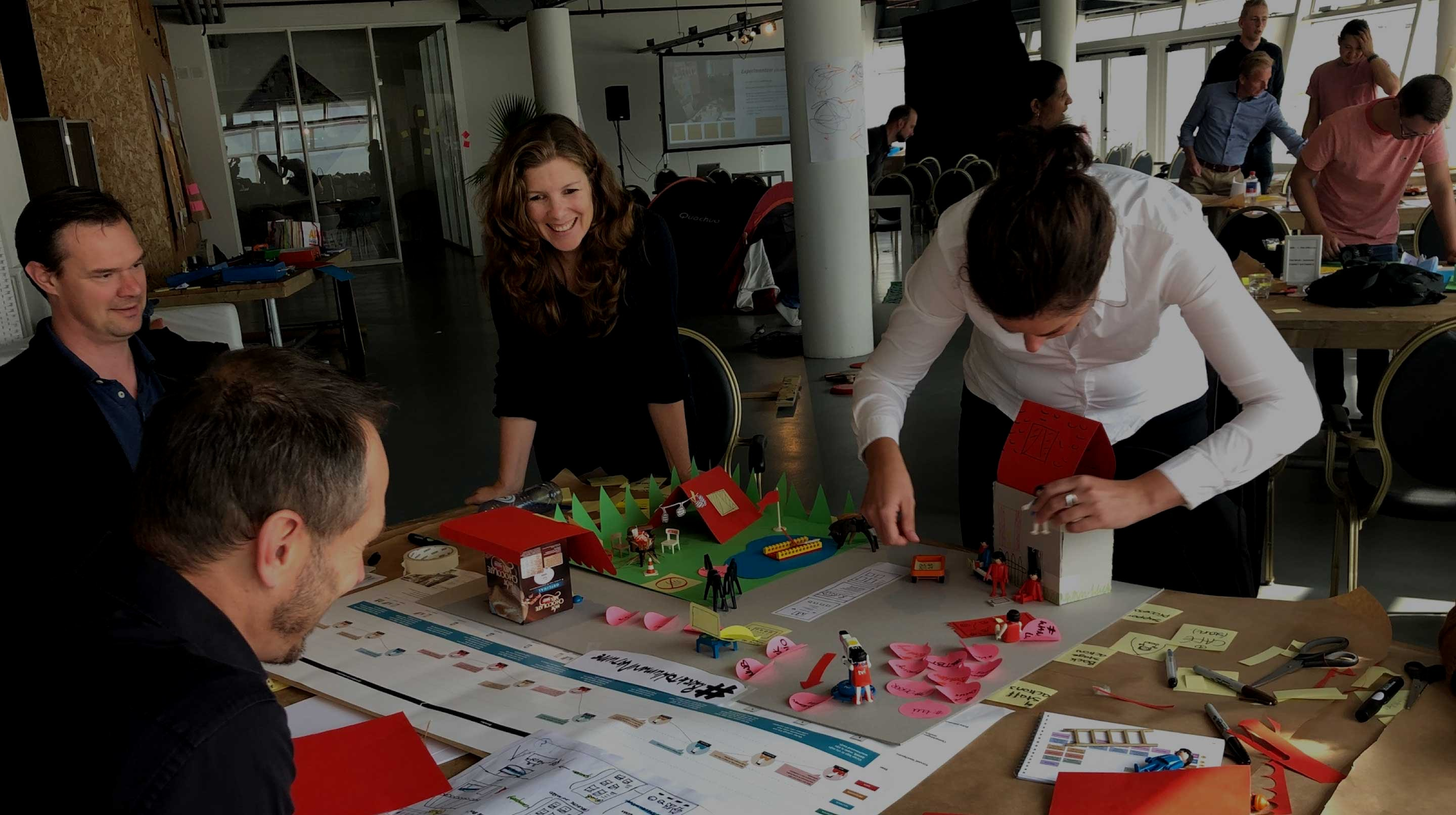 Learn to apply service design techniques in the master class of Informaat