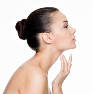 chin augmentation - photo woman