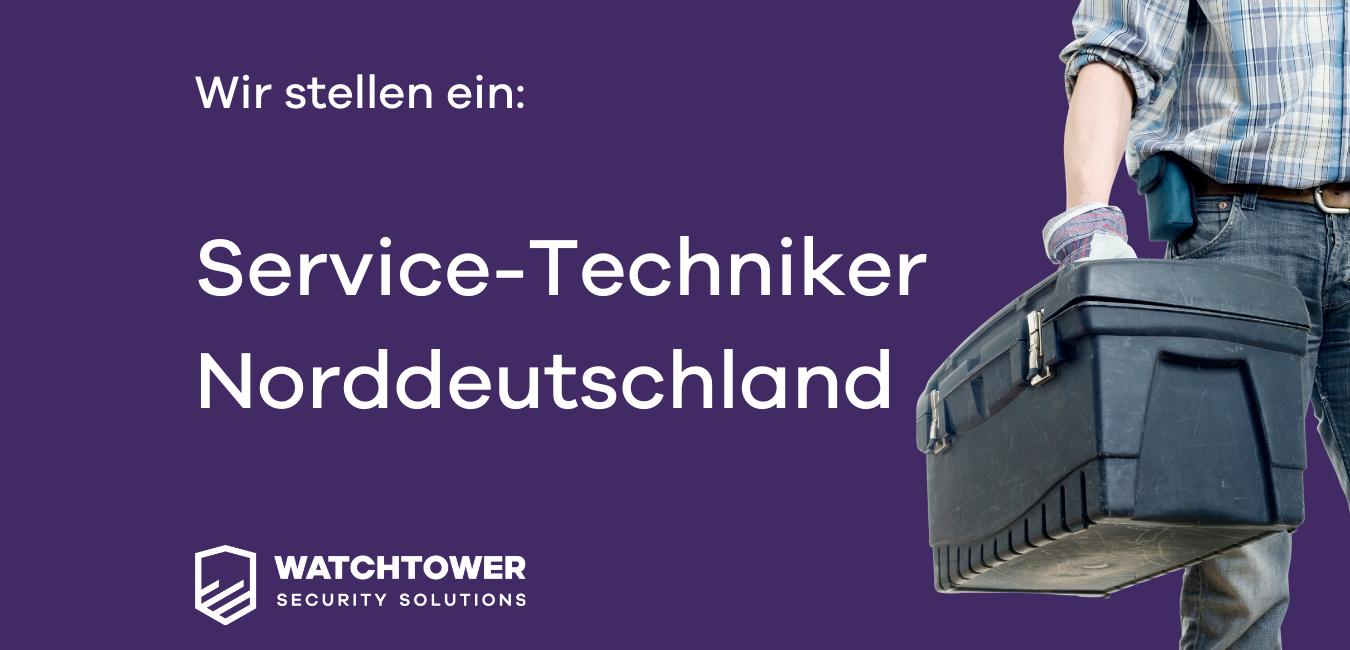 Service Techniker Nord Deutschland gesucht
