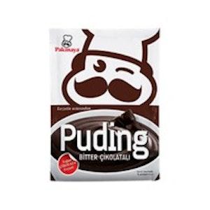 Bitter Çikolatalı Puding