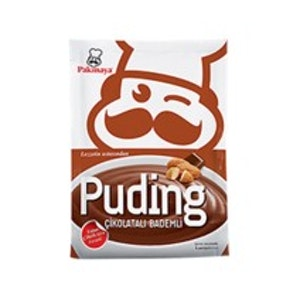 Çikolatalı Bademli Puding