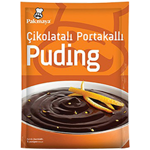 Çikolatalı Portakallı Puding