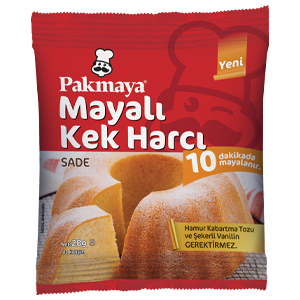 Mayalı Kek Harcı Sade