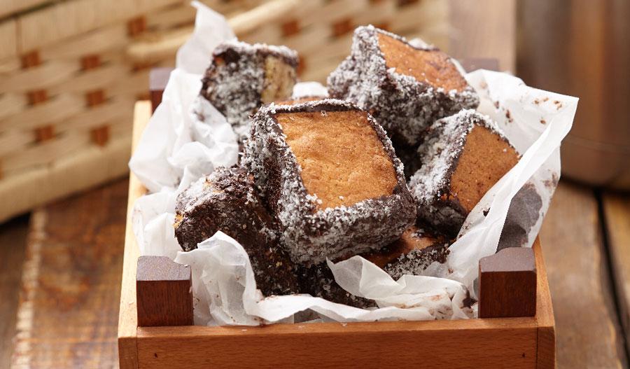 çikolatalı küp kekler