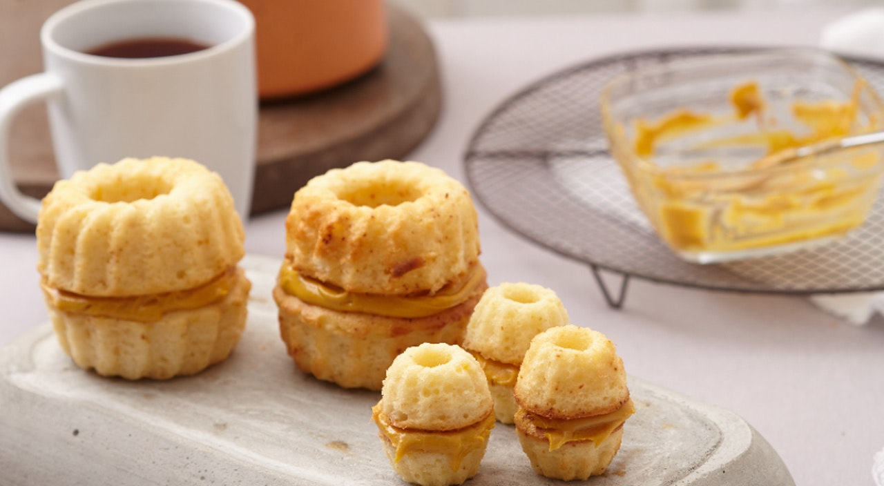 balkabağı püreli kekler