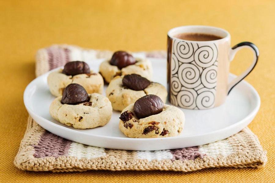 kestane unlu çıtır kurabiye