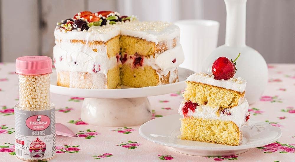 meyveli bahar pastası