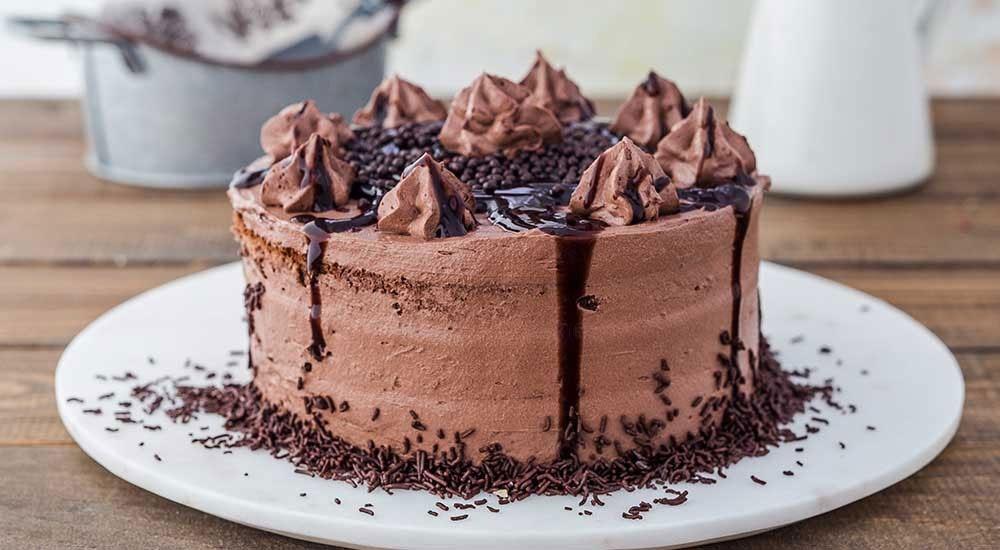 çok çikolatalı pasta