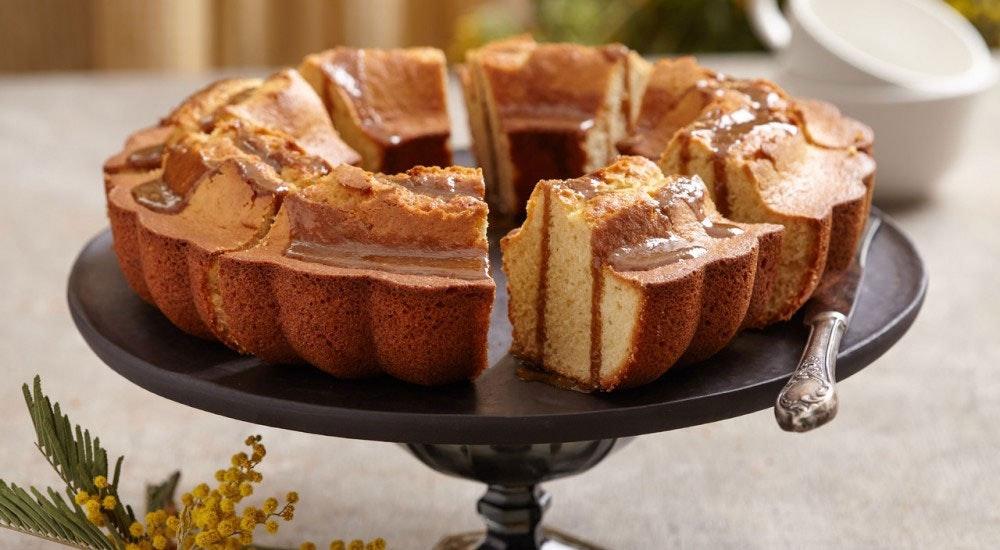tahinli pekmezli kek