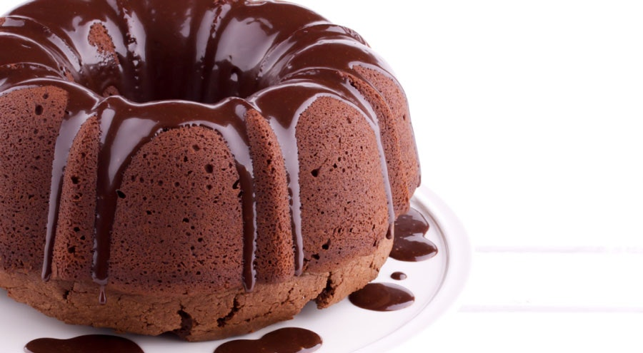 çilekli pudingli kakaolu kek