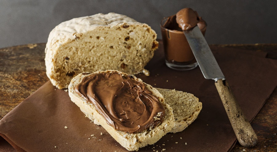 yulaflı ve kabak çekirdekli esmer ekmek