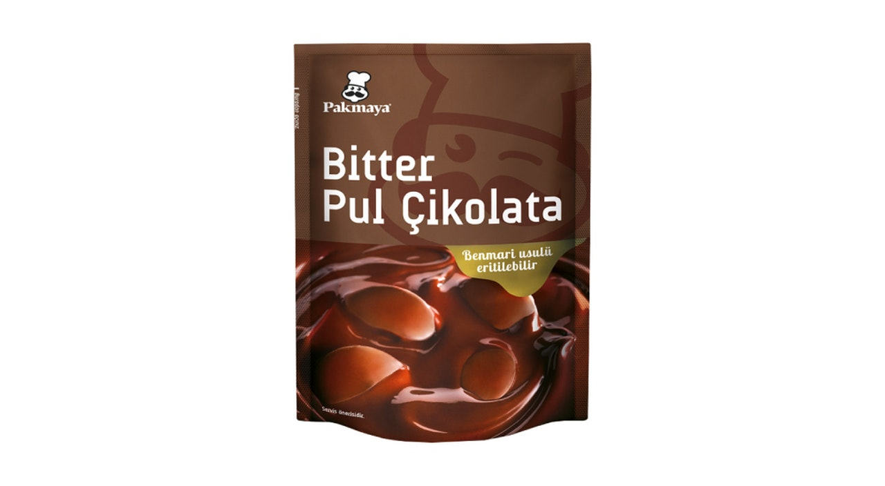 Pakmaya Bitter Pul Çikolata
