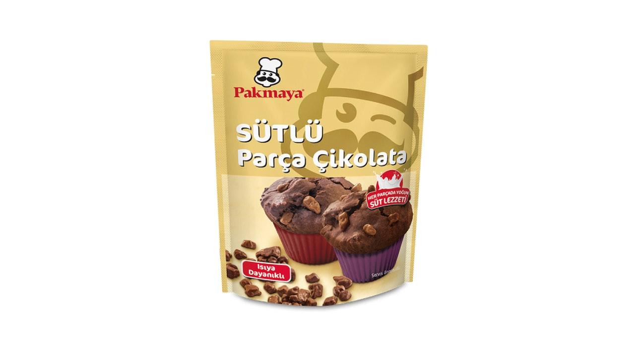 Pakmaya Sütlü Parça Çikolata