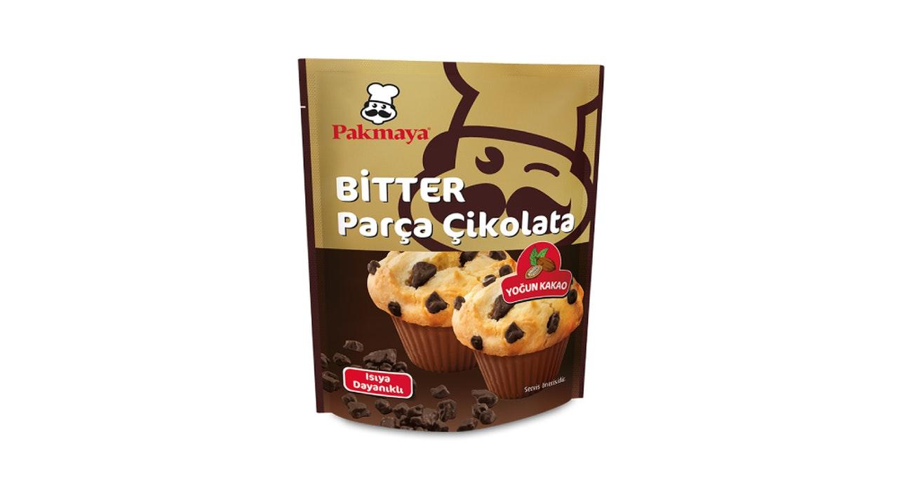 Pakmaya Bitter Parça Çikolata