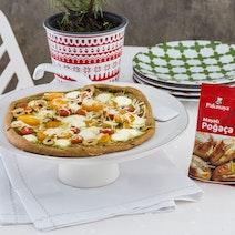 Çavdar Unlu Renkli Poğaça Pizzası Tarifi