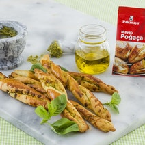 Parmesanlı ve Pestolu Burgu Poğaça Tarifi