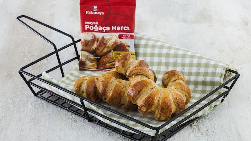 Patlıcanlı ve Kepek Unlu Poğaça Tarifi