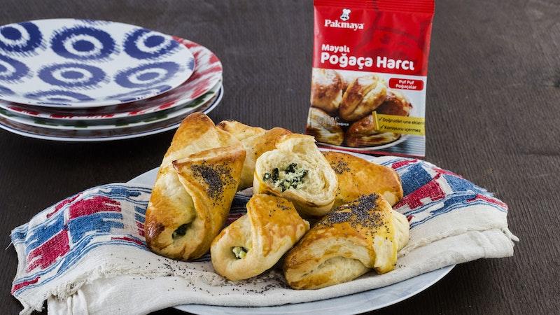 Ispanaklı Lor Peynirli Rulo Poğaça Tarifi