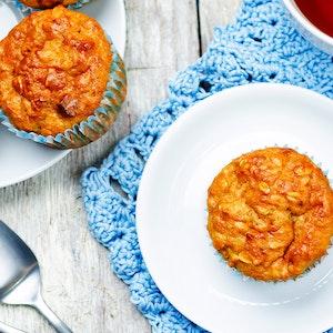 Bademli Kayısılı Muffin Kek Tarifi