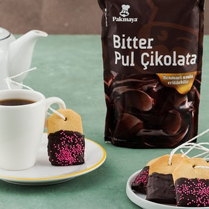 Çikolatalı Çay Bisküvileri Tarifi