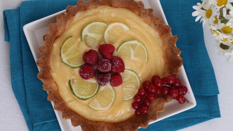 Limon Kremalı Tart Tarifi