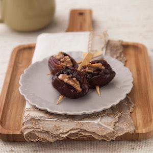 Fırında Çikolatalı ve Cevizli Hurma Tarifi