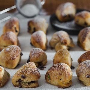 Antepfıstıklı Mini Çörekler Tarifi