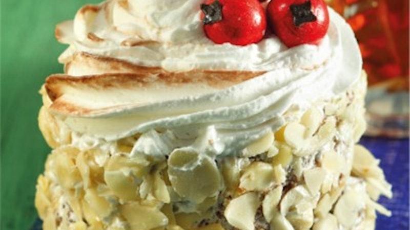 Muzlu ve Bademli Mini Pastalar Tarifi