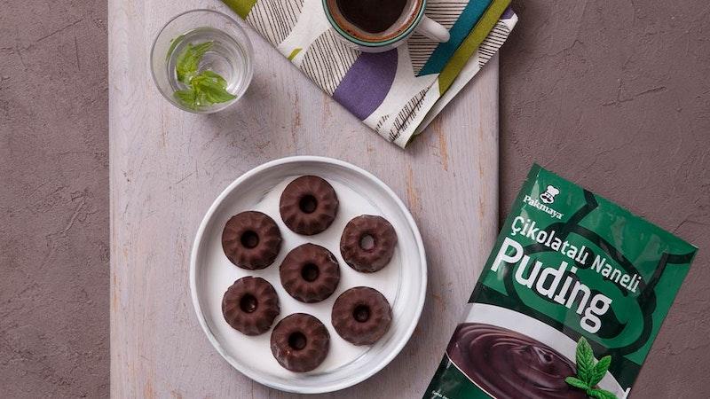 Çikolatalı Naneli Pudingli Atıştırmalık Tarifi