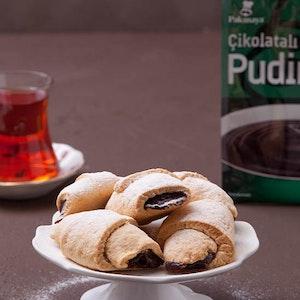 Çikolatalı Naneli Pudingli Rulo Kurabiye Tarifi