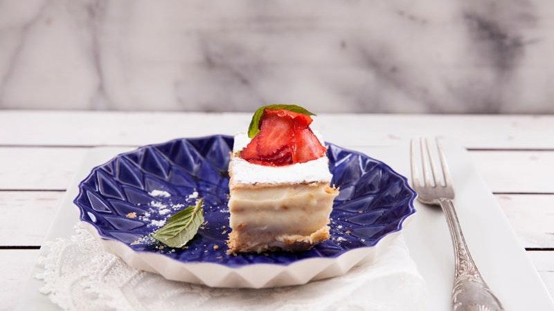 Puding Kremalı Milföy Pastası Tarifi