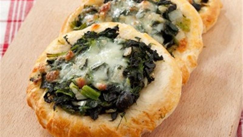 Ispanaklı Peynirli Cantık Tarifi