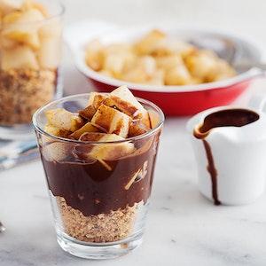 Çikolatalı ve Tarçınlı Armut Kup Tarifi